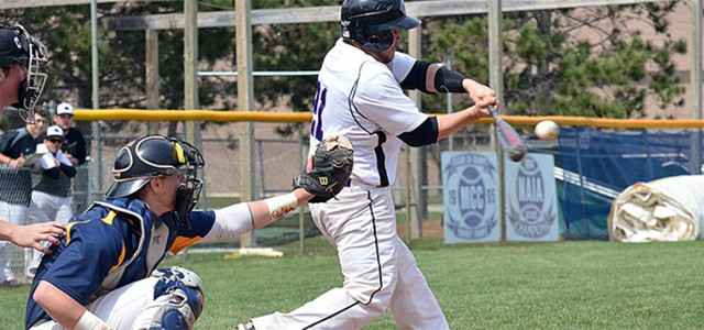 Baseball earns split with Trinity
