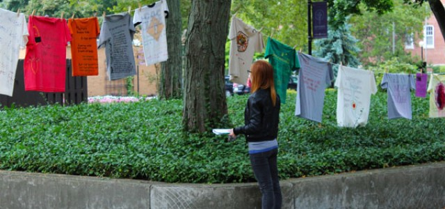 Women's Work: The Clothesline Project