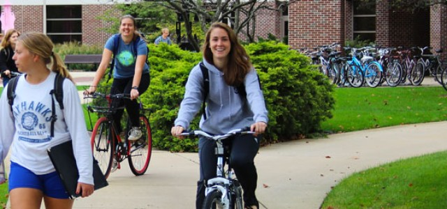 GC applies to be a bike friendly campus