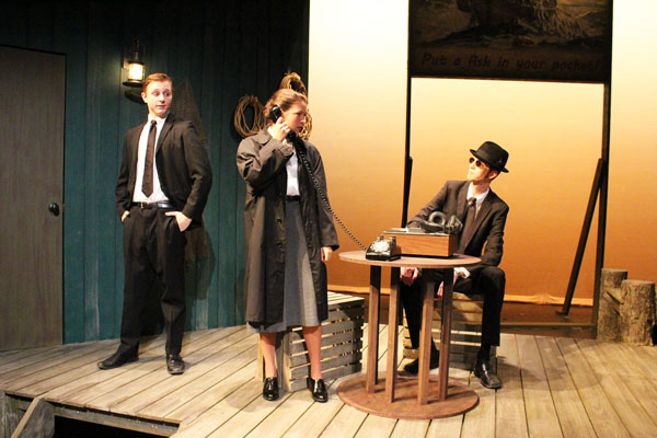 Students perform in Red Herring