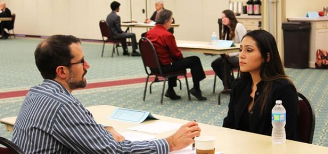 Mock interviews prepare students