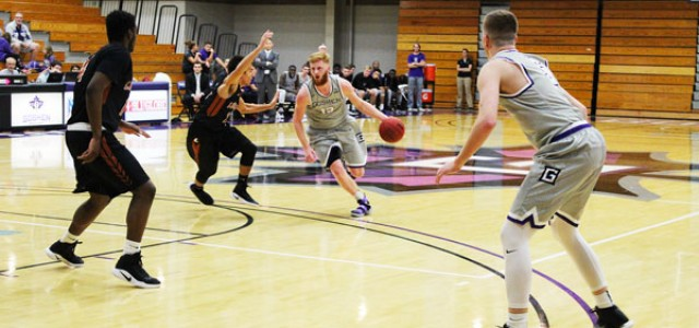 Men's basketball splits weekend