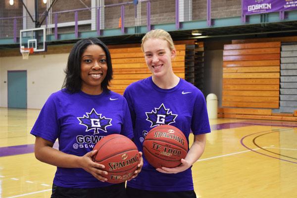 Photo of Basketball players Nia and Sophia