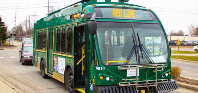Interurban Trolley offers GC students free rides