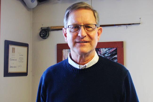Portrait of Clay Shetler