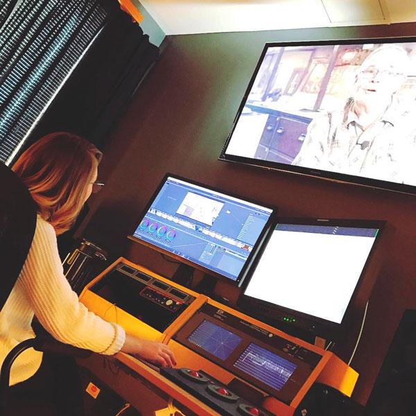 Mills works in FiveCore media studio