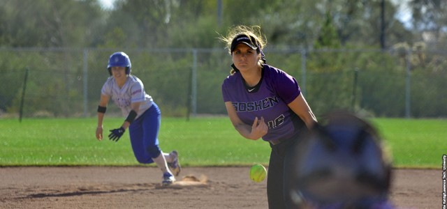 Softball earns split with Taylor