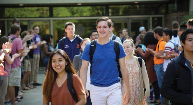 Incoming class largest in 8 years