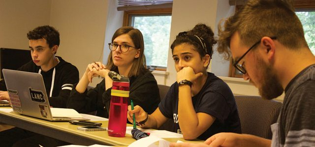 Student Senate reshapes, sets goals