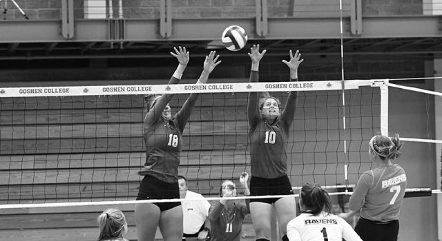 GC volleyball out-hit by conference rival Bethel