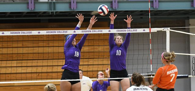 Volleyball falls to IWU