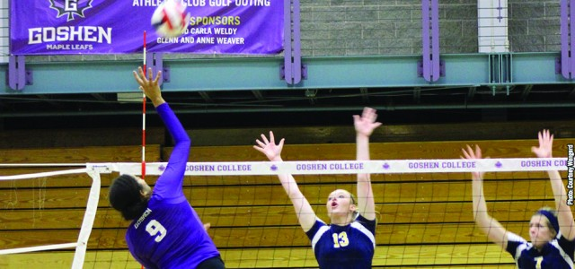 Volleyball victory earns Routhier 600th win