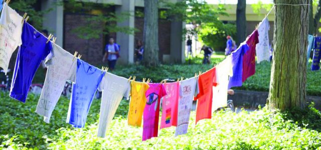 Annual report records on-campus sexual offenses