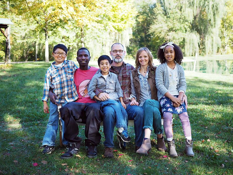 Shannan Martin and family