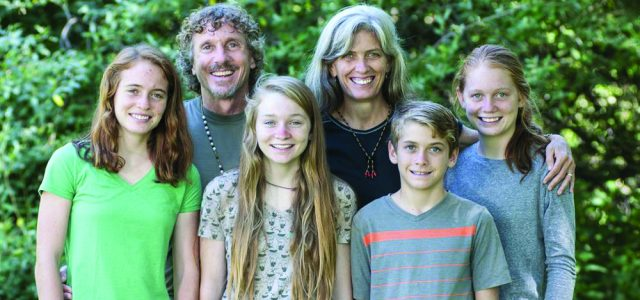 The Ross Richer family's two-way mission