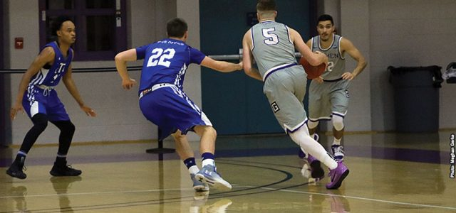 Men's basketball opens season with win