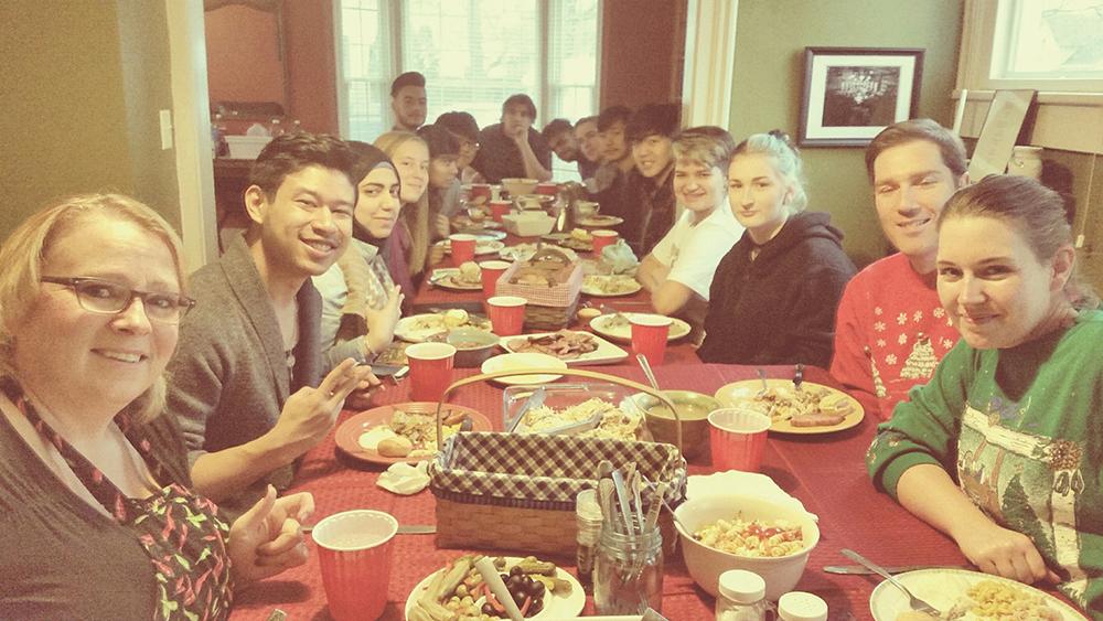 Turkeypalooza at the Samuel's house