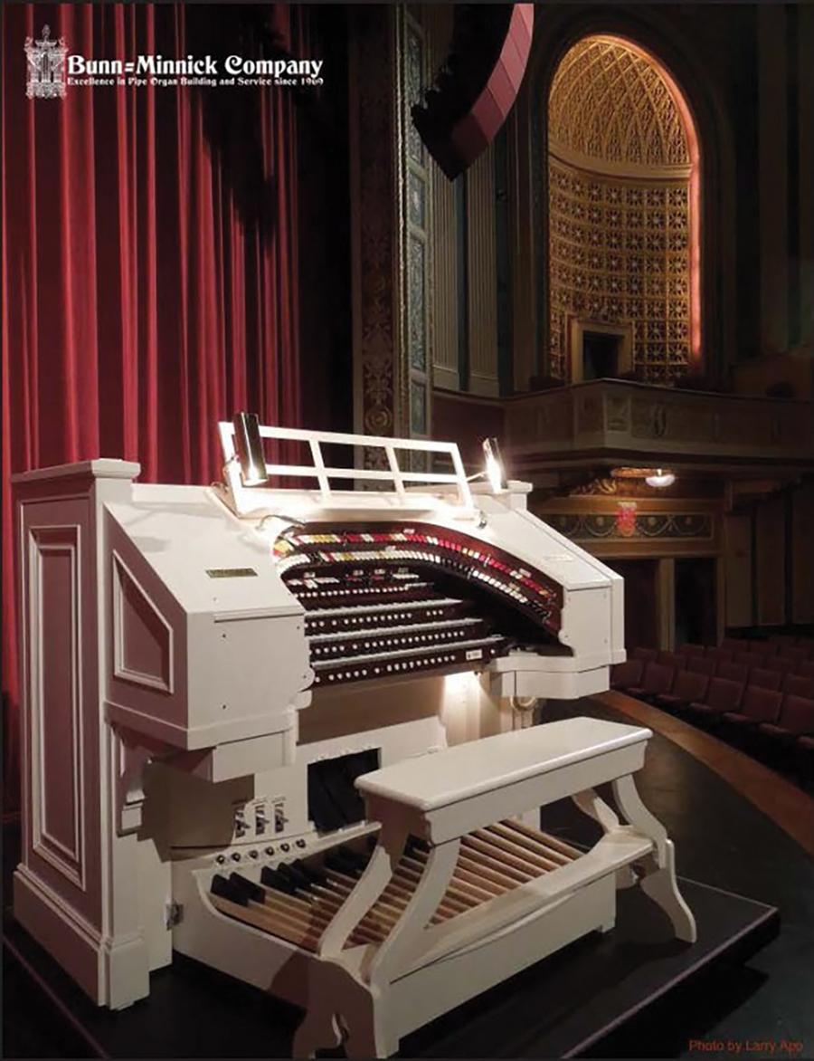 Organ in Lerner Theater