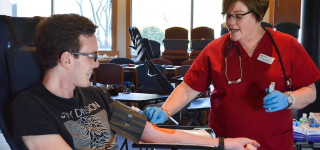 Campus host blood drive