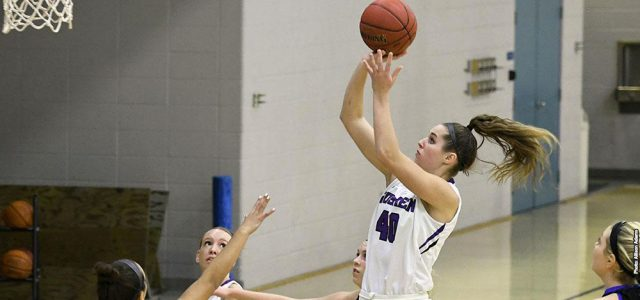 Goshen women support Destiny Rescue, fall in consecutive games