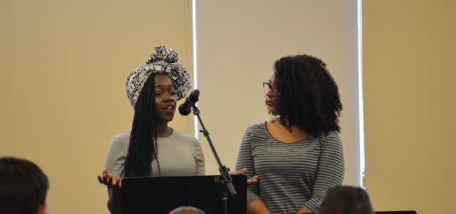 Students Speak Out at MLK Coffeehouse