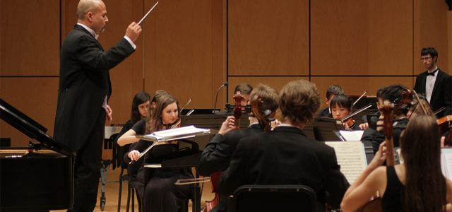 Student talent showcased at Concerto-Aria concert