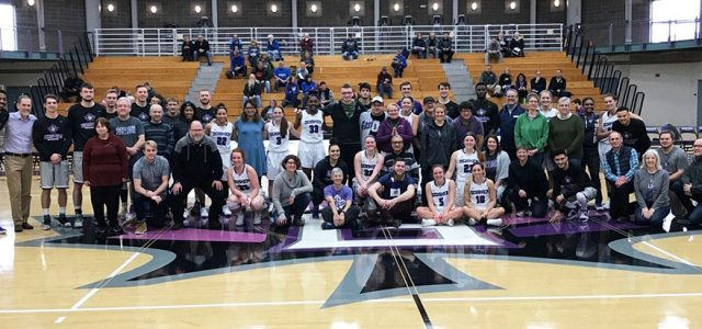 Men's and women's basketball ousted on professor and staff appreciation day