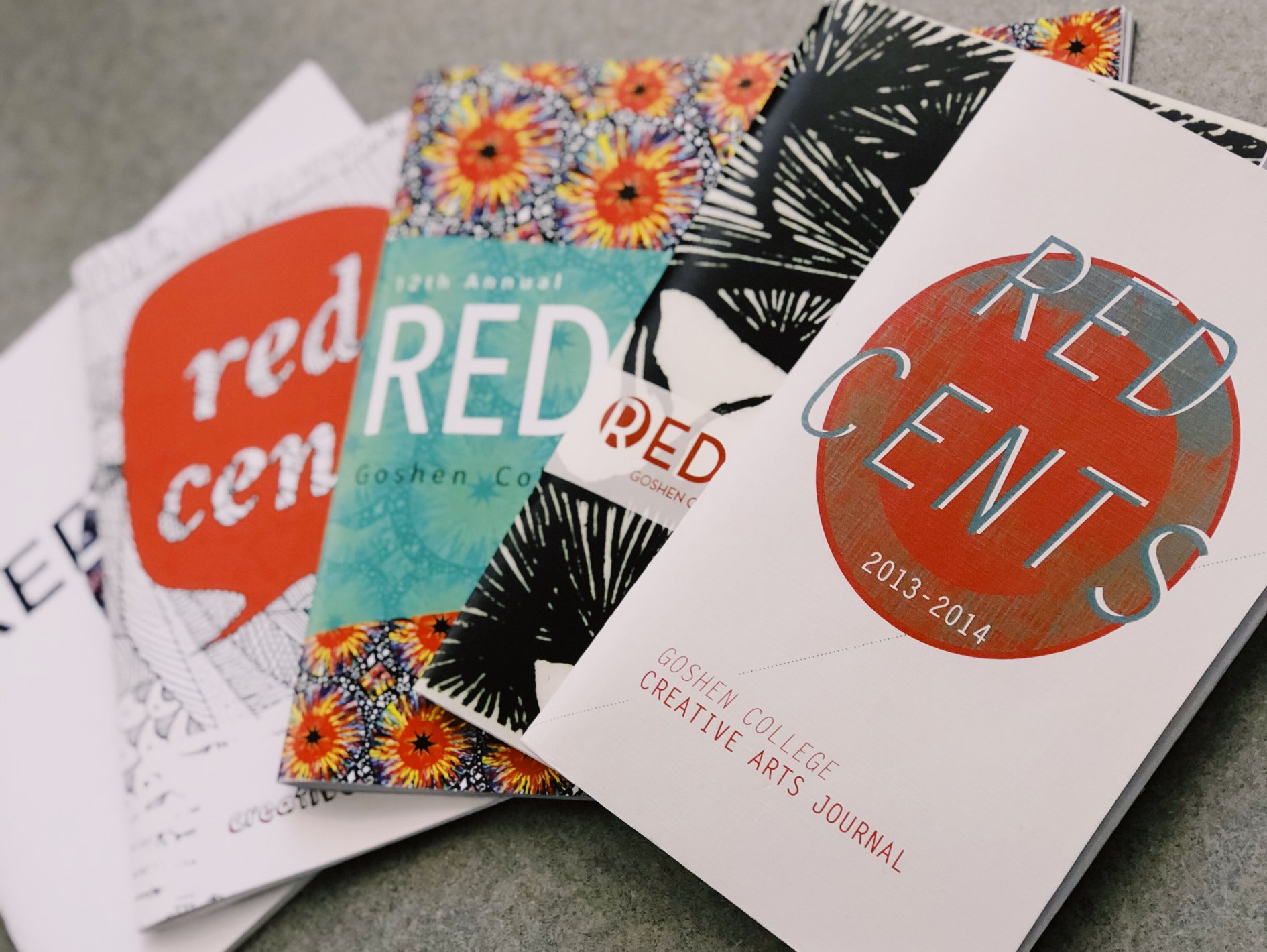 Red Cents book covers