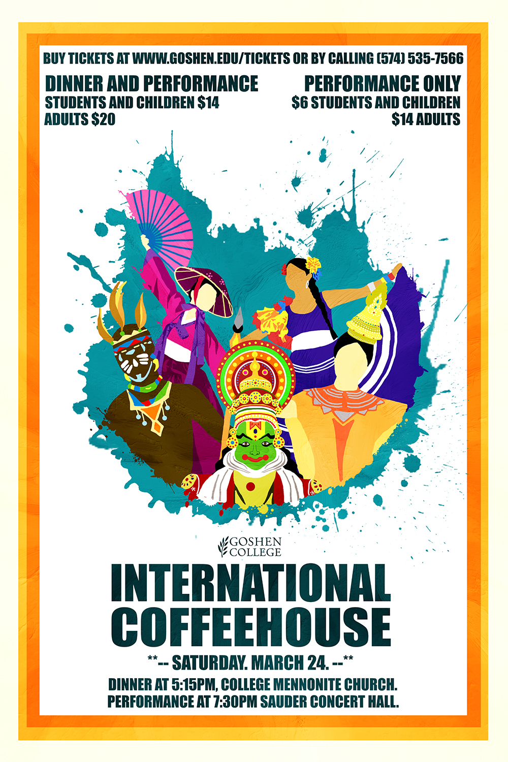 Poster for International Coffeehouse