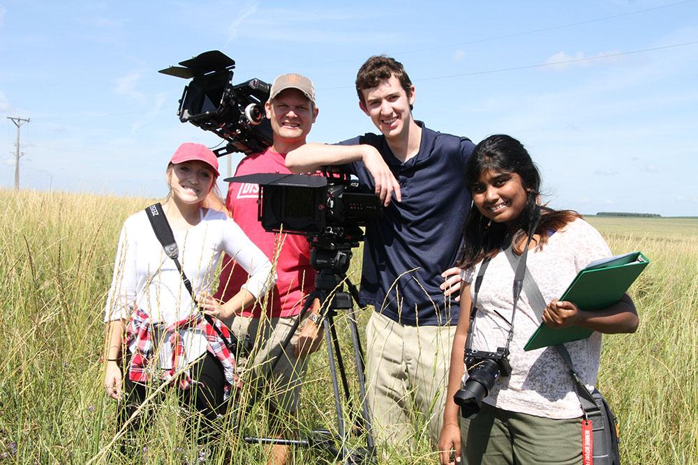 FiveCore Media crew in South Dakota