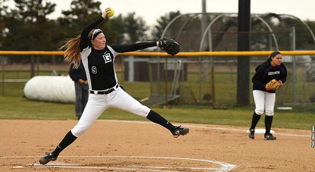 Softball splits with Benedictine-Mesa to end spring break trip