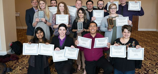 Broadcasting students win awards