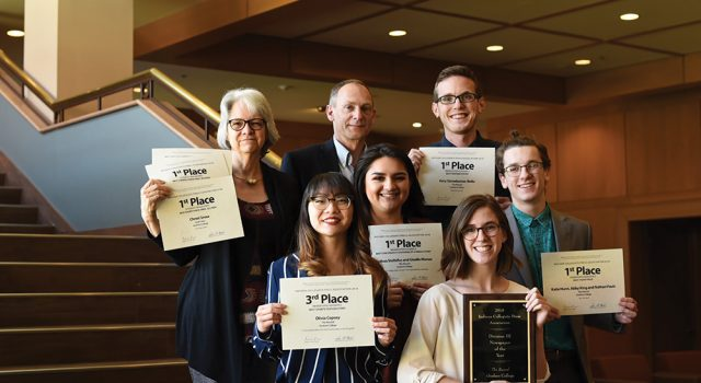 GC publications bring home first, third place