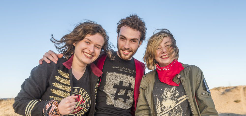 Savannah Buist, Michael Dause and Katie Larson of The Accidentals