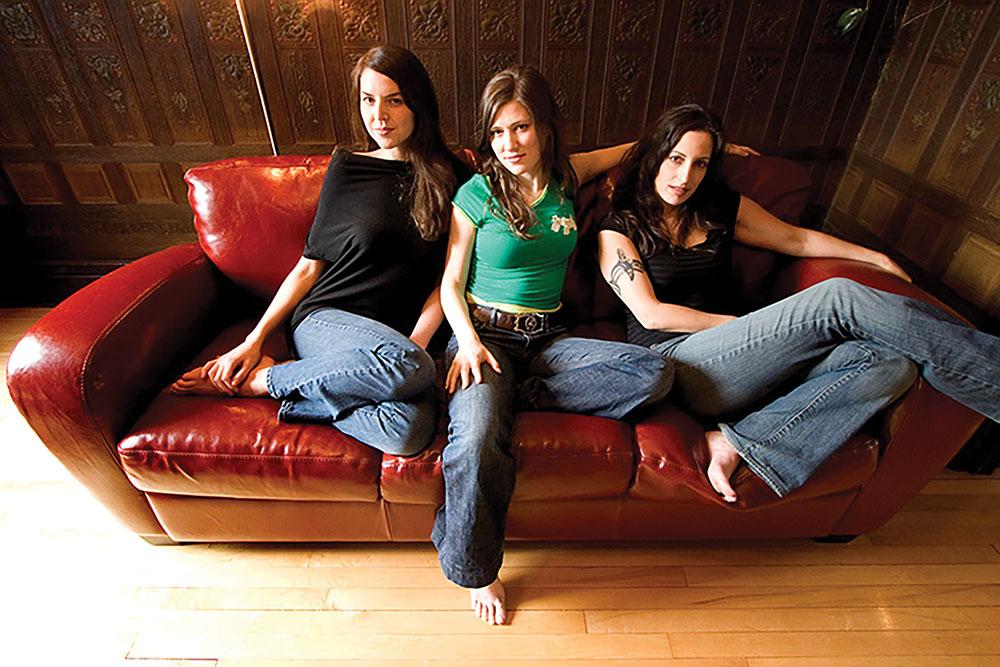 Nicky Mehta, Ruth Moody and Heather Masse of the Wailin' Jennys