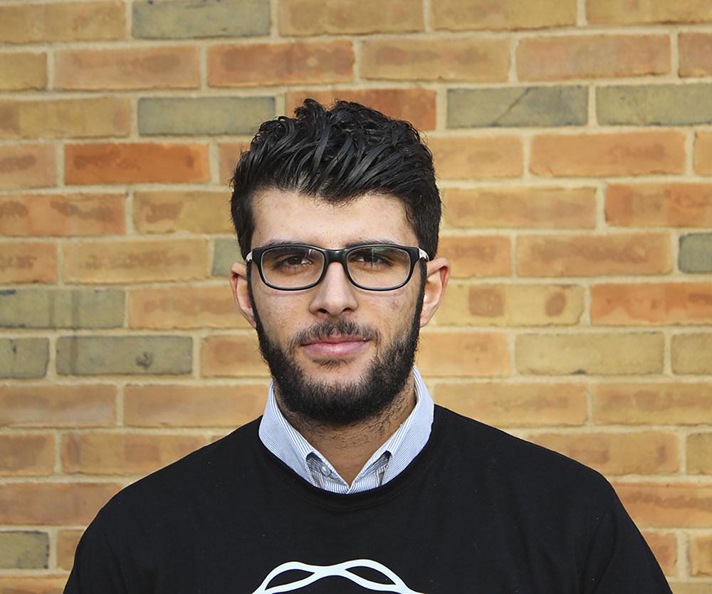 Portrait of Yazan Meqbil