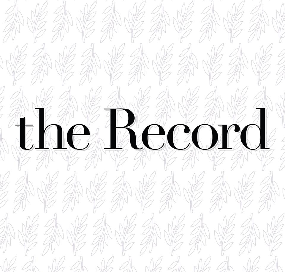 """Title card """"The Record"""""""
