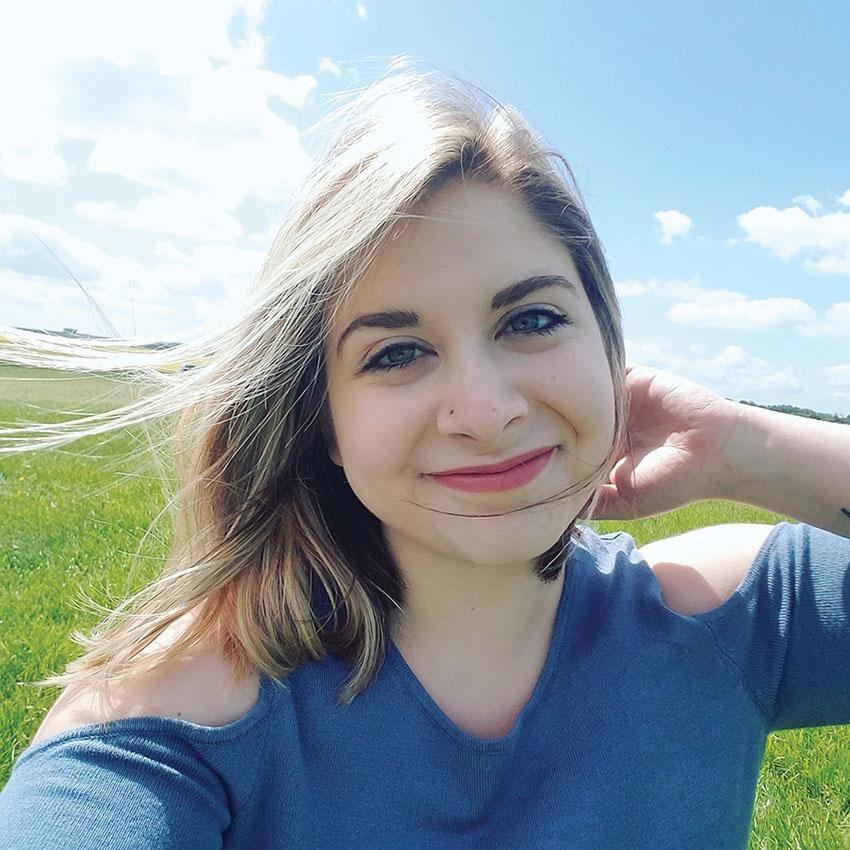 Selfie of Marris Opsahl