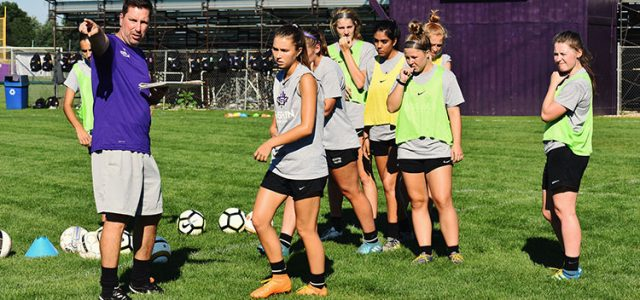 New women's soccer coach fosters a positive environment for the team