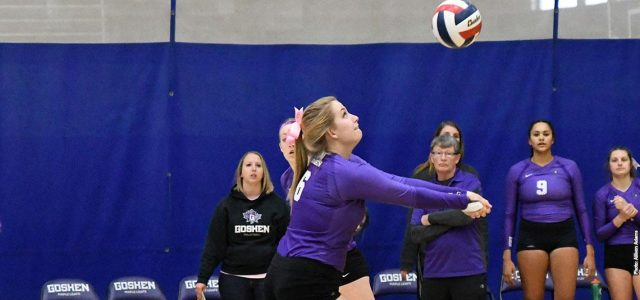 Women's Volleyball goes 0-2 over the weekend