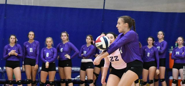 Women's volleyball defeated by nationally ranked Cougars