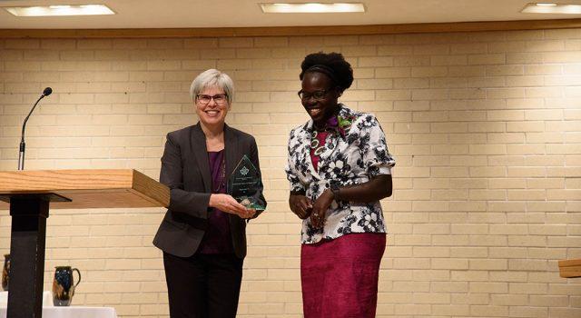 Alumni recognized in annual awards convocation