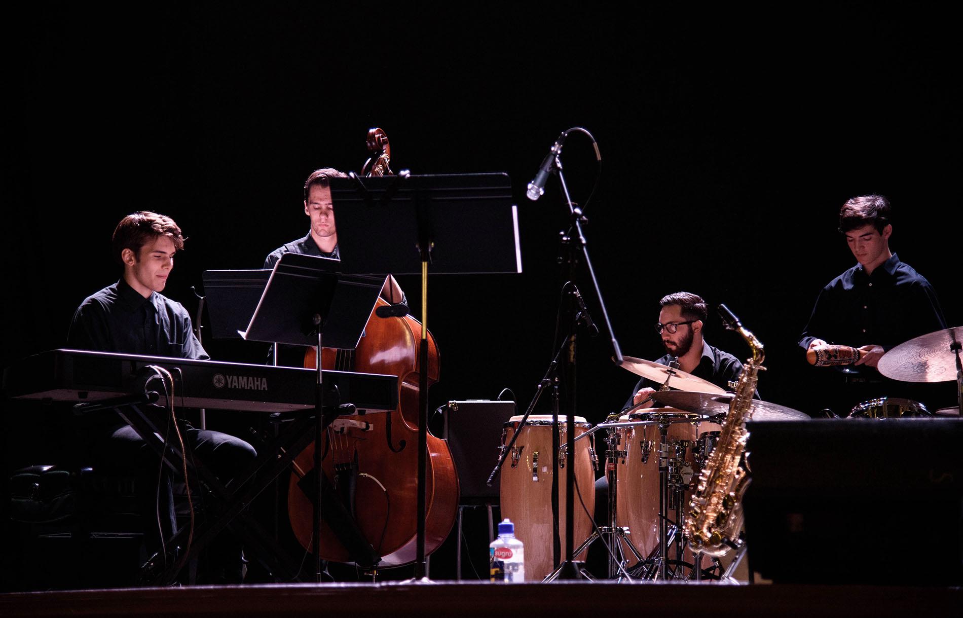 Lavender Jazz performing