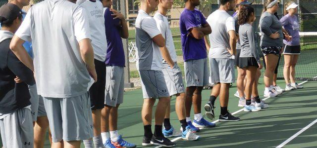 Men's tennis advances to the semifinals