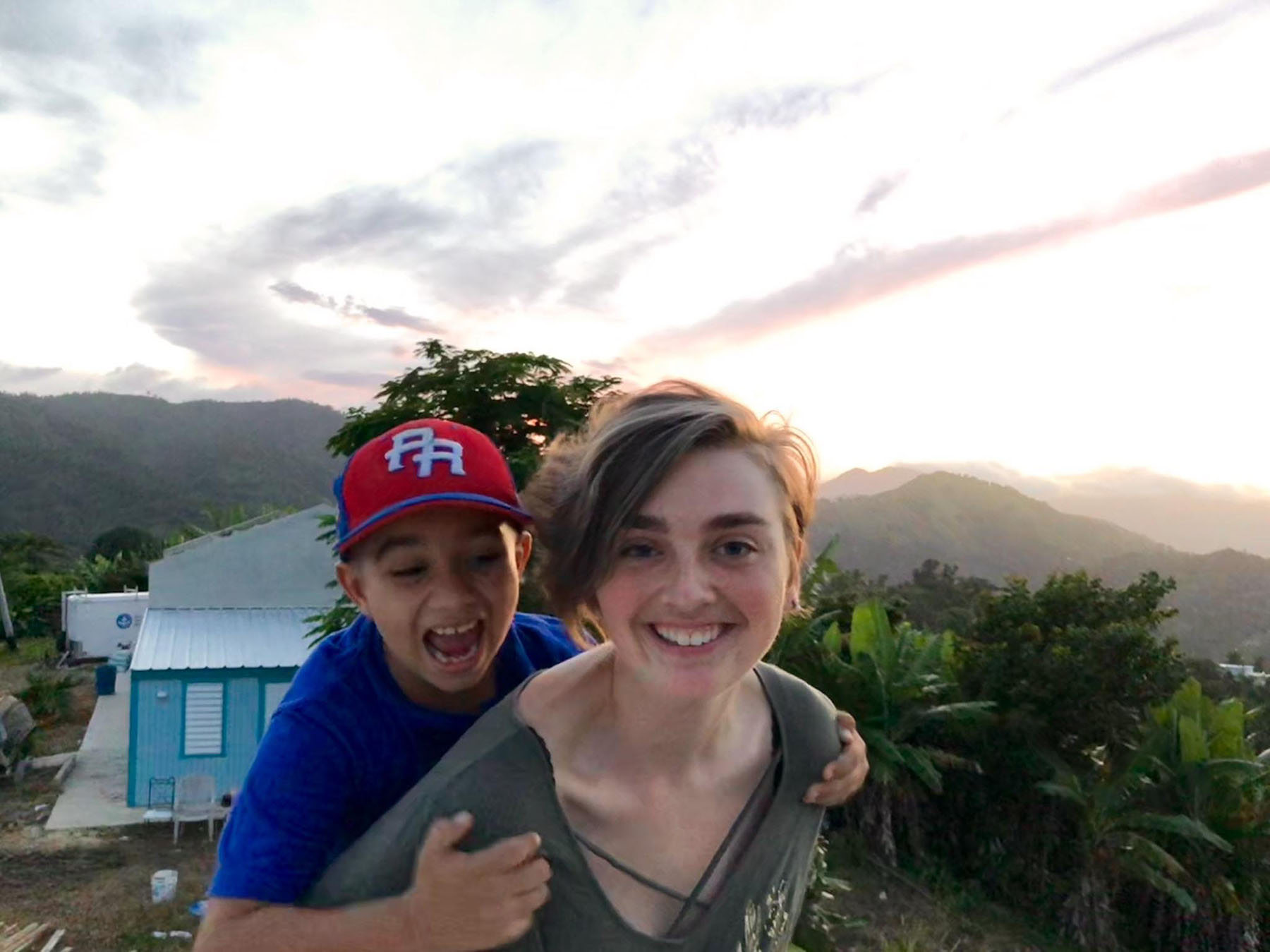 Erica Ewing in Puerto Rico
