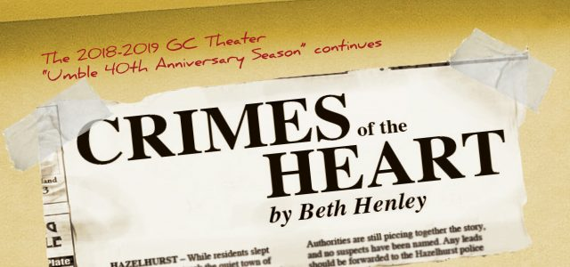 """GC presents fall mainstage, """"Crimes of the Heart"""""""