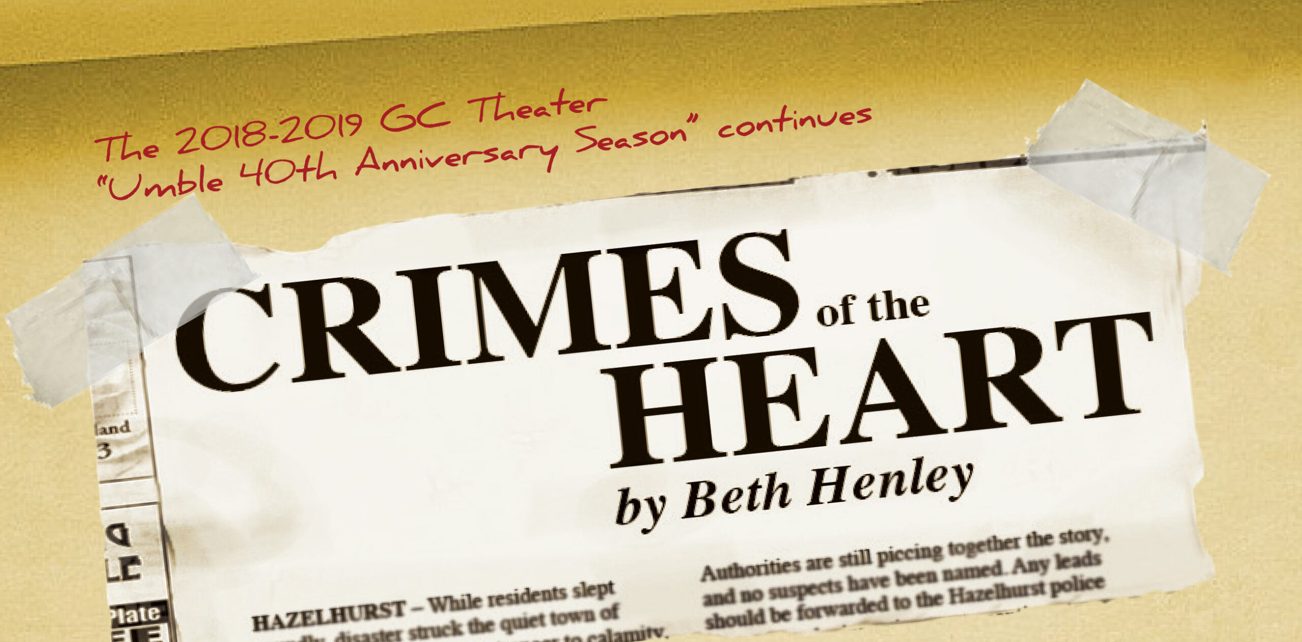 Poster for Crimes of the Heart