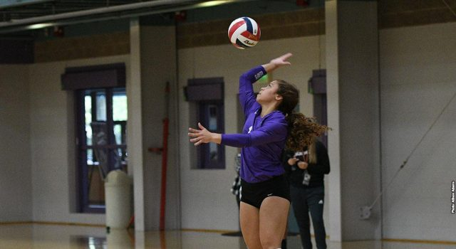 Women's volleyball ends season on high note