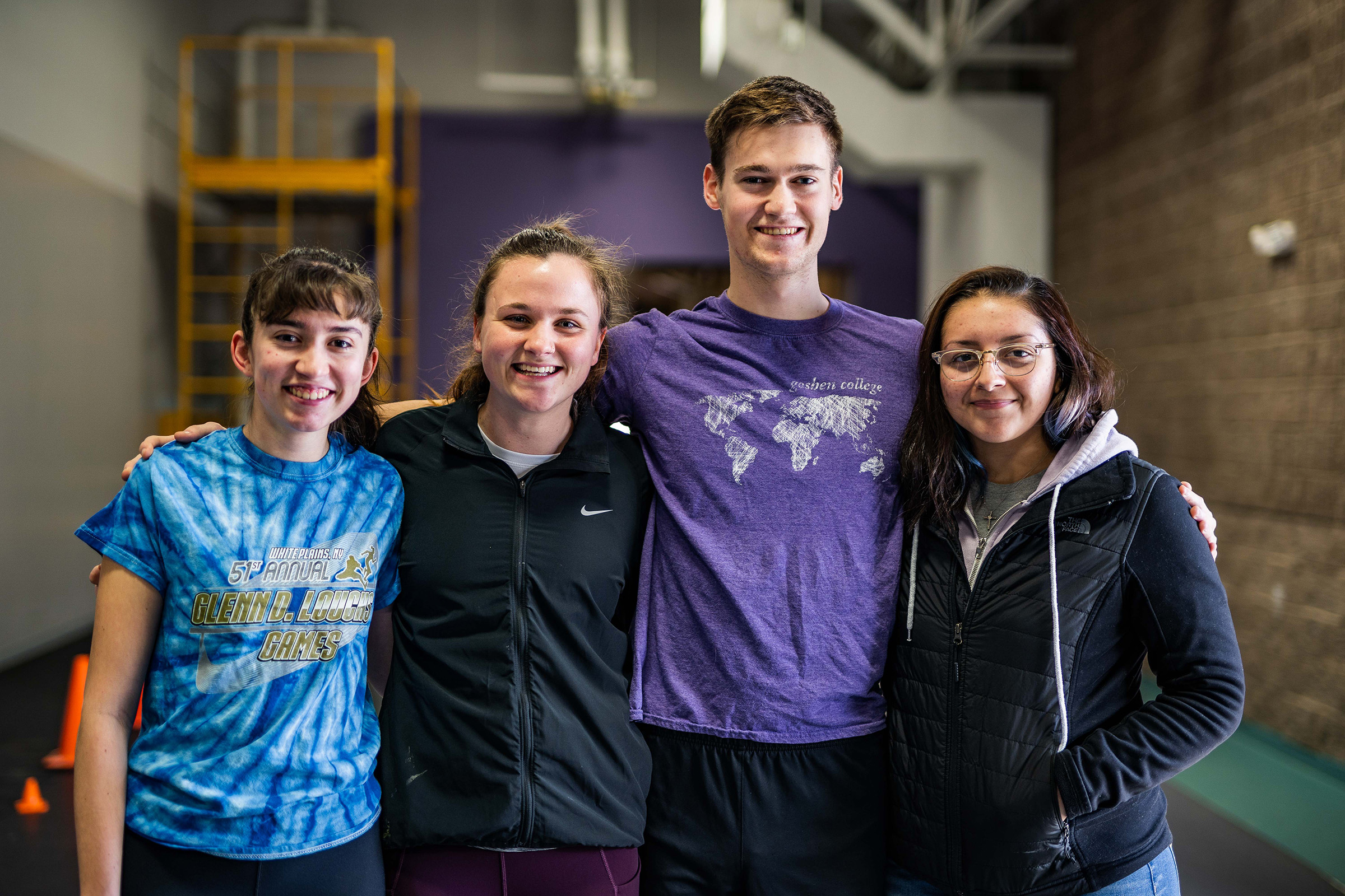 Group of nationals athletes in rfc