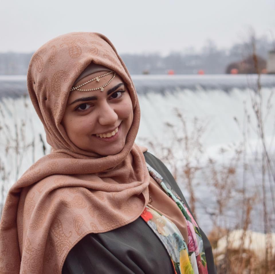Portrait of Sara Azzuni